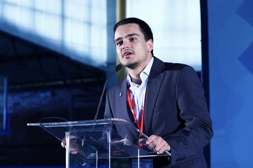 Daniel Monteiro - presidente - ISCA Lisboa2