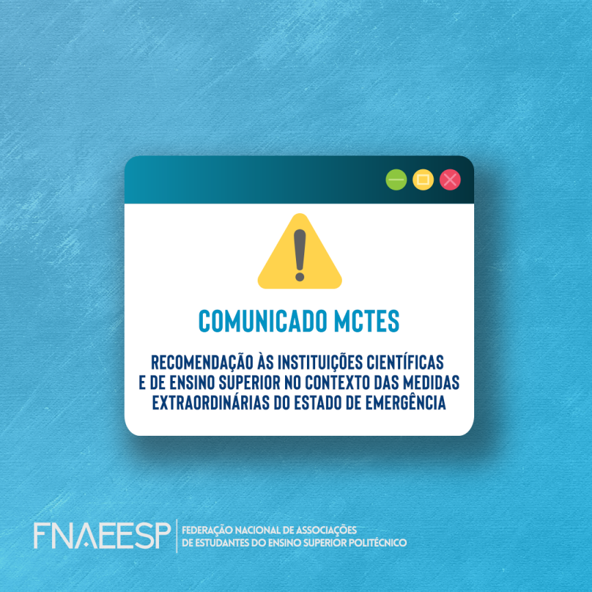 Comunicado MCTES